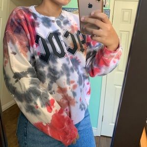 ACDC tie dye pull over 🍭